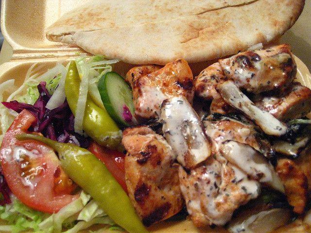 Large Mixed Grill Kebab