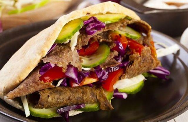 Spicy Naga Large Doner Kebab