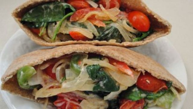 Salad in Pitta Bread