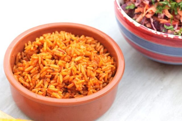 Large Peri Peri Rice