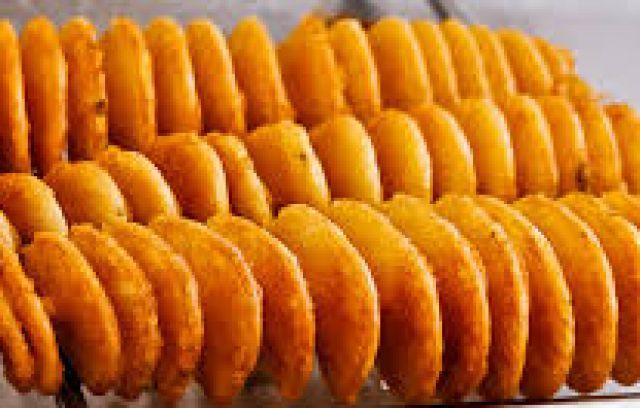 Potato Twisters Plus Dip