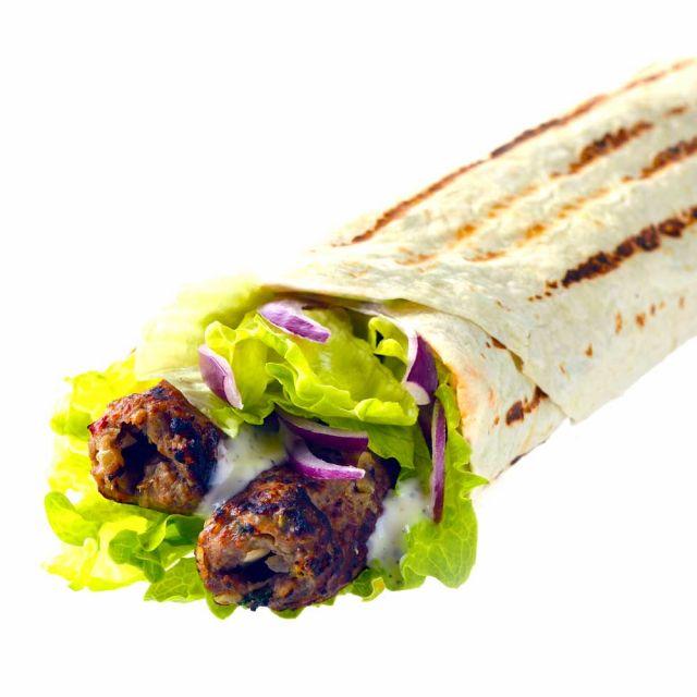 Lamb Seekh Kebab - Meal