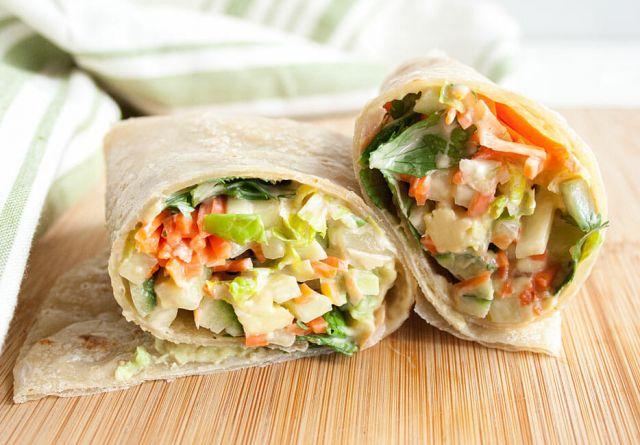 Veggie Wrap - Regular