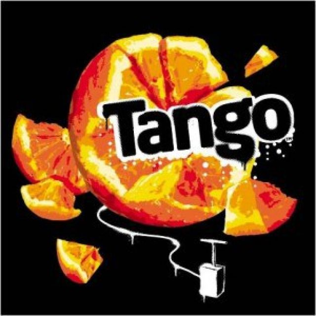 Tango Orange Can