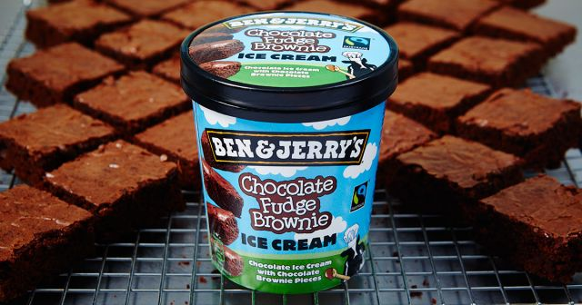 Ben & Jerry's Choc Fudge Brownie