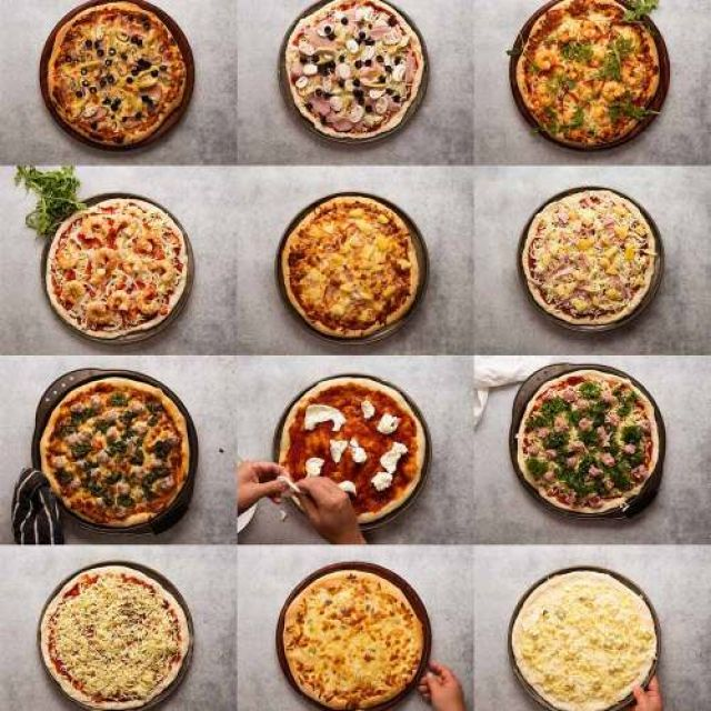 Be Creative 4 Toppings Pizza