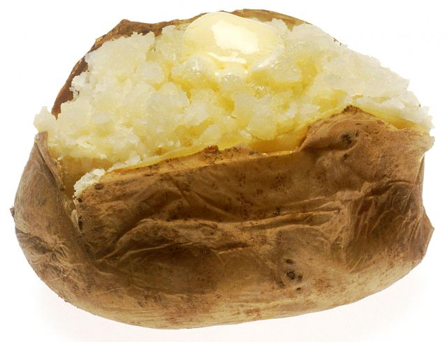 Jacket Potato & Butter