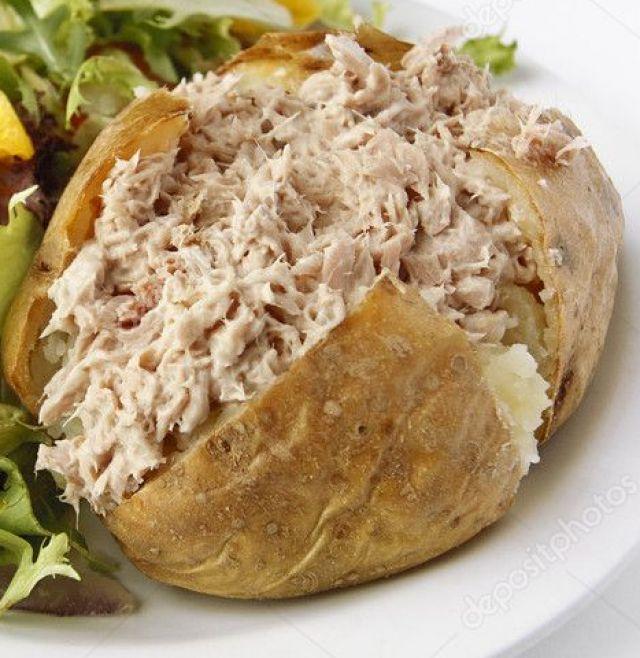 Jacket Potato with Tuna Mayo