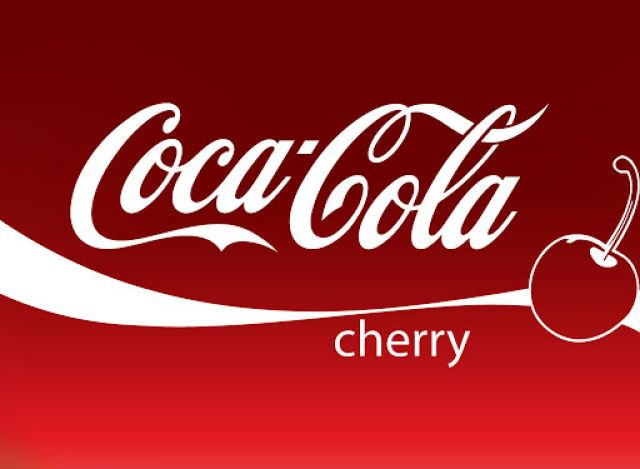 Coke Cherry 330ml Can