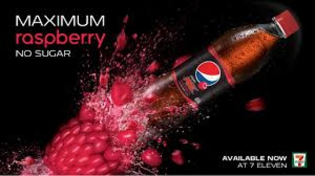 Pepsi Max Raspberry 500ml Bottle