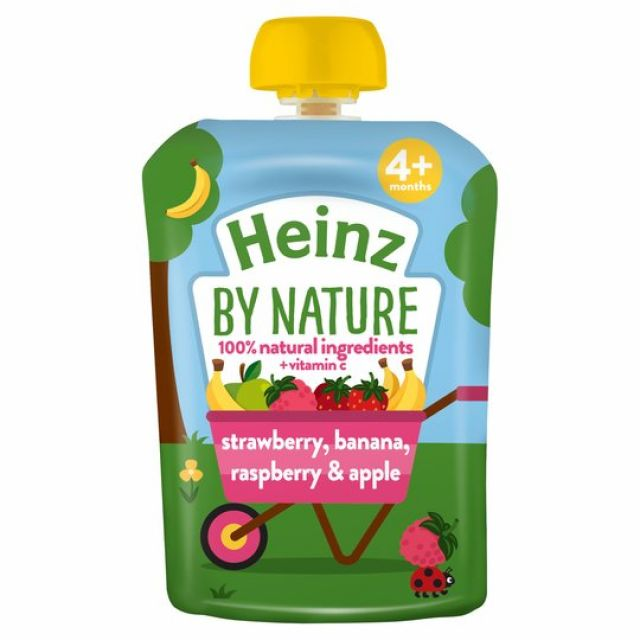 Heinz 4 Fruits Pouch