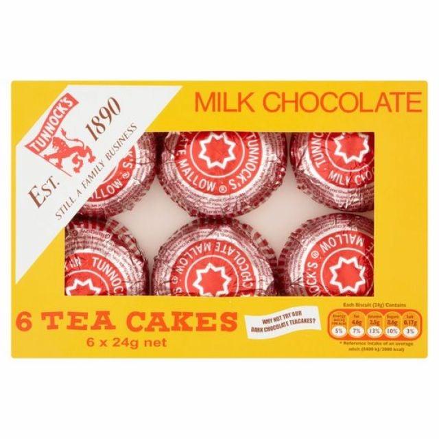 Tunnock Chocolate Teacakes