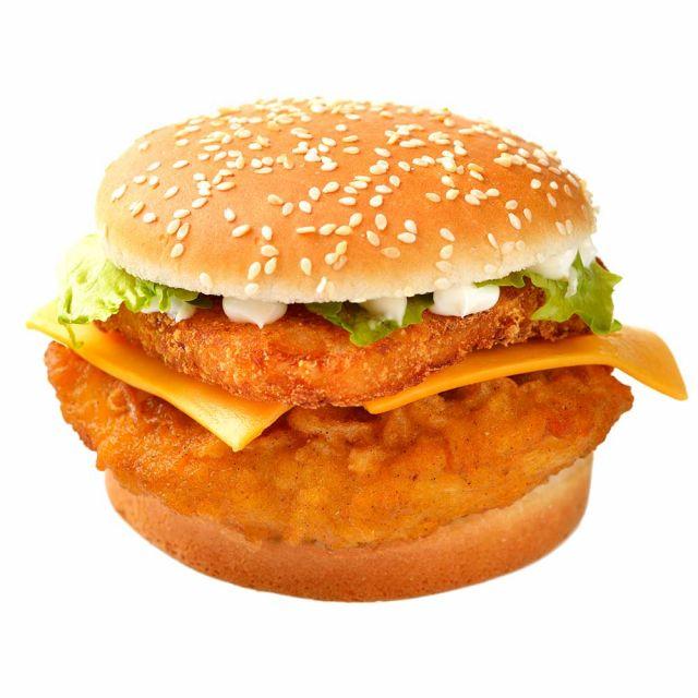 Chicken Tower Burger