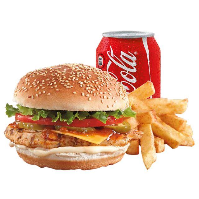 Chicken Stake Burger