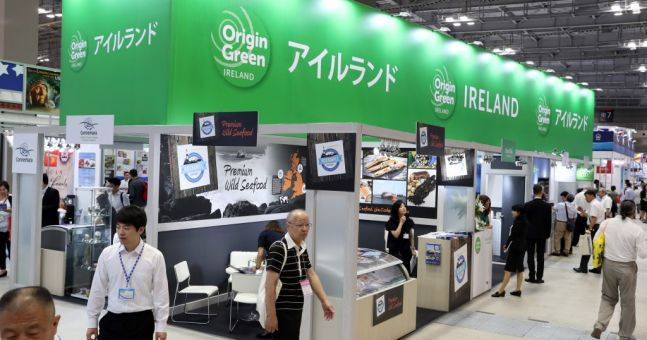 Irish Seafood Exporters Exhibit At Japanese Expo   Checkout