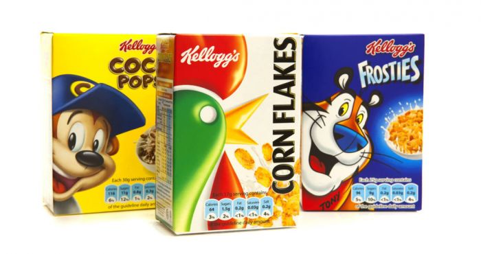 Cereal Maker Kellogg's Cuts Full-Year Profit Outlook, Shares Fall