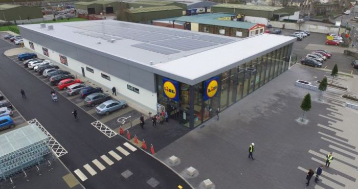 Lidl Ireland Invests €130,000 In Solar Panels At Birr Store | Checkout