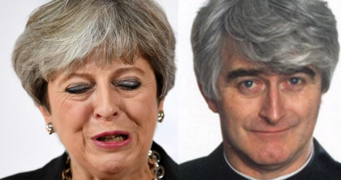 Theresa May Has The Same Haircut As Father Ted And This