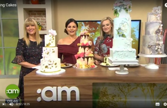 Confetti on Wedding Cakes - Saturday AM