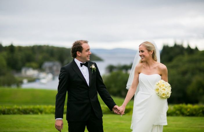 Fiona and Eddie's dreamy wedding day at The Lodge at Ashford Castle