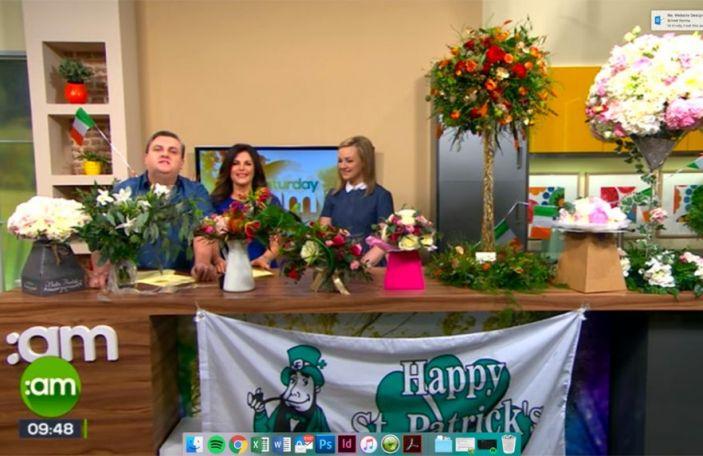Confetti on Wedding Flowers - Saturday AM