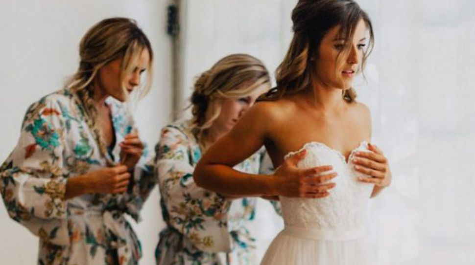 This bride sent her bridesmaids 'ground rules', including weight gain plans