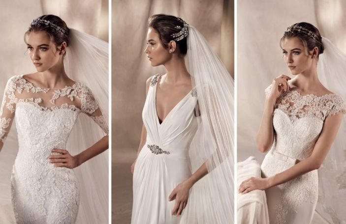 Wedding dresses from Marian Gale's exclusive wedding dress collection