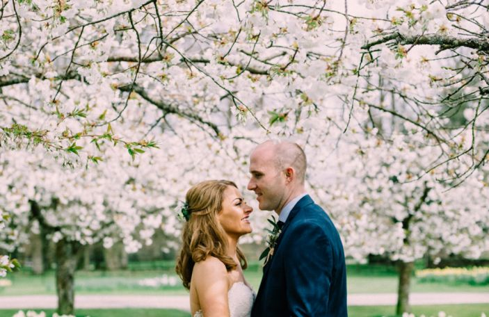 Brenda and Philip's relaxed, floral-infused wedding at Borris House