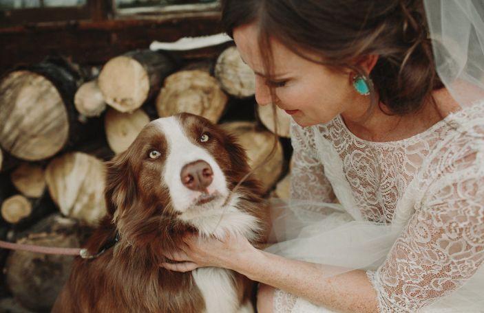 Megan and Drew's breathtaking Colorado wedding