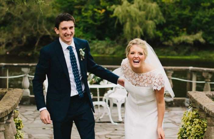 Rebecca and Craig's fun, relaxed wedding at Innishannon House Hotel, Cork