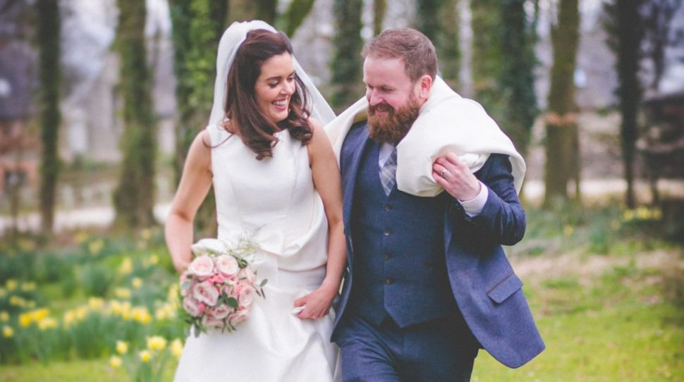 Grainne and Ros' fun-filled wedding at The Step House Hotel, Borris