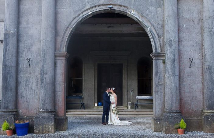 Louise and Peter's family-filled, intimate wedding at Temple House, Co Sligo