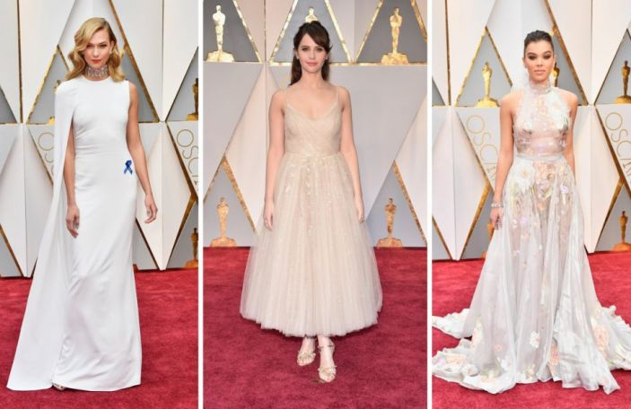 17 wedding worthy gowns from this year's Oscars