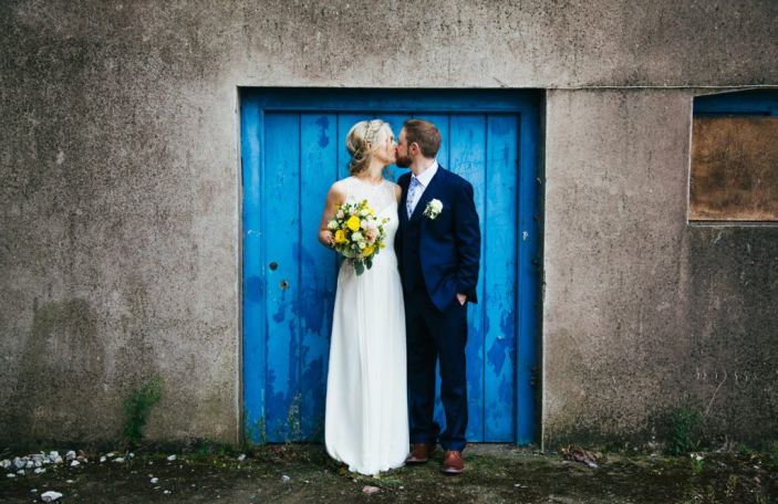 Niamh and Cian's colourful, family-filled wedding at Barnabrow House