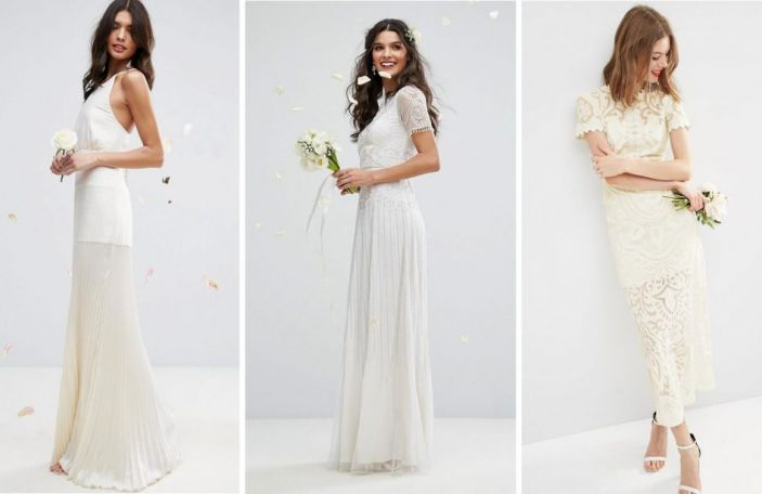 9 gorgeous affordable wedding dresses from ASOS for the modern bride