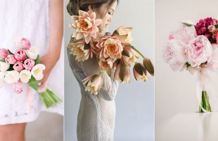 Wedding Trend Alert: Single Variety Bouquets