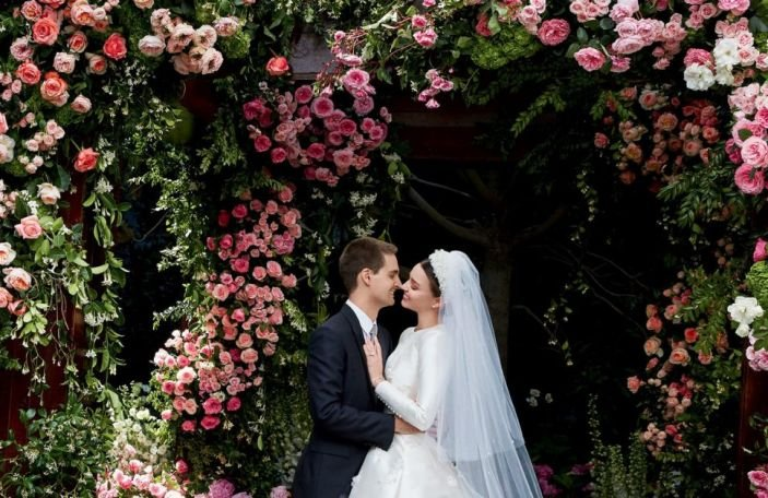 Miranda Kerr's custom haute couture wedding gown will make you so jealous