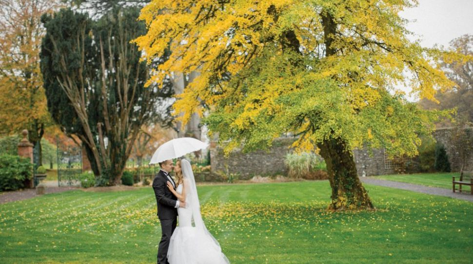 Childhood sweethearts Lauren and Árón's wedding at Tankardstown House, Co Meath