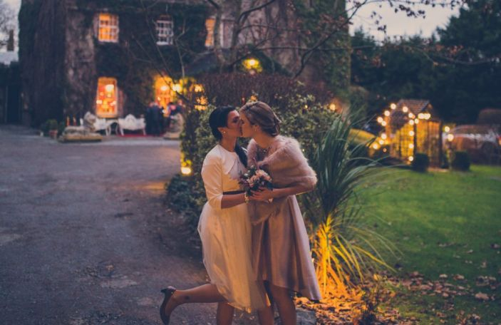 Emer and Karolina's relaxed wedding at Cloonacauneen Castle, Claregalway