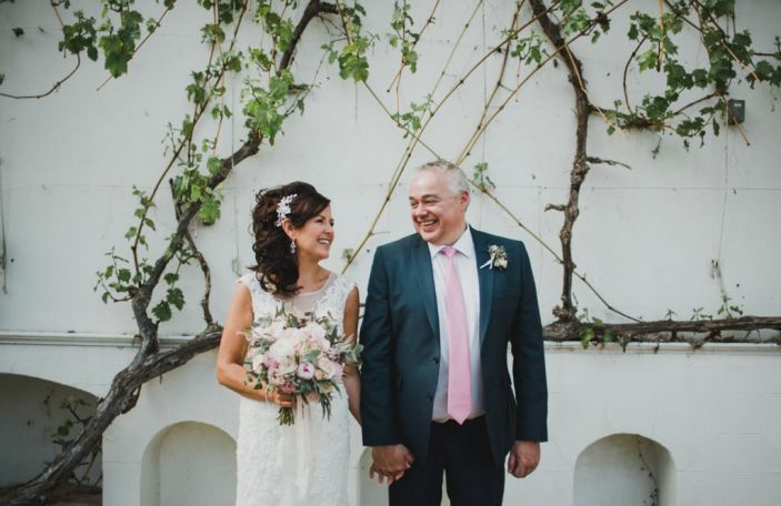 Tracey and Roger's intimate, family wedding at Palace Stables, Co Armagh