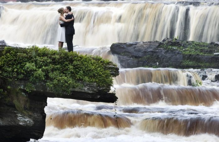 Five stunning places to take wedding photos at The Falls Hotel & Spa