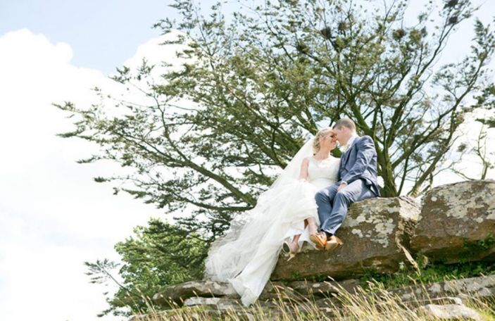 Deirdre and Ger's simple, relaxed wedding at The Falls Hotel and Spa
