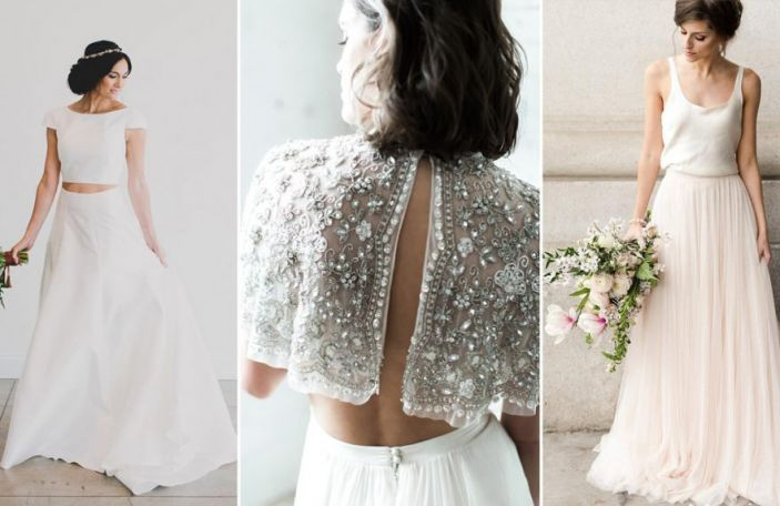 Beautiful Bridal Separates for the Modern Bride