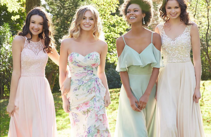 Five ways to take the stress out of bridesmaids dress shopping