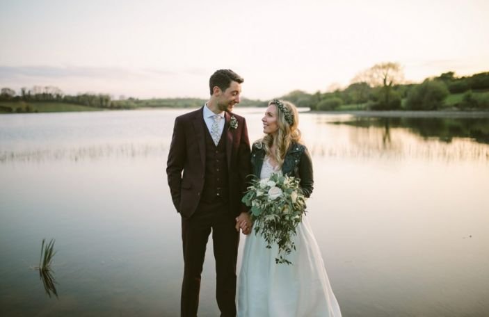 Leah and Stuart's rustically-styled wedding in Ballydugan Mill