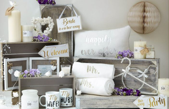Penneys have released a new range of wedding accessories and bridal bits