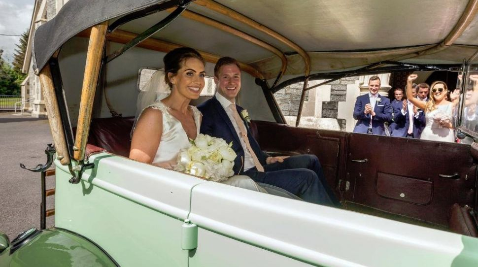 Miriam O'Callaghan's daughter Alannah looks stunning as she marries in Kerry