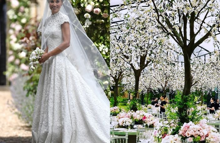 The first pics of Pippa Middleton's reception are here and they are beautiful!