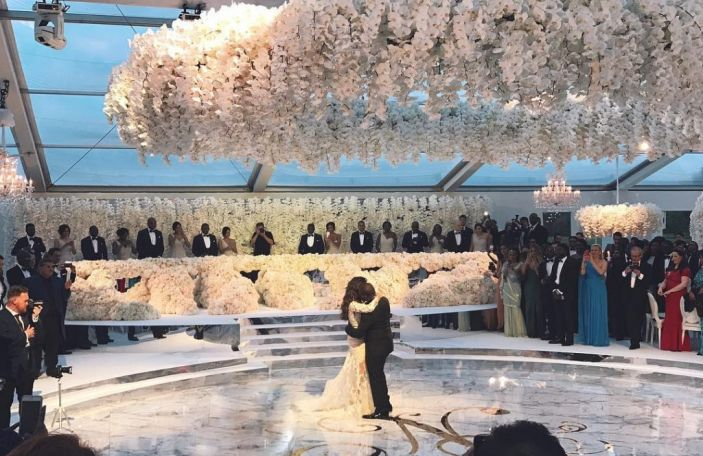 So, this is what a $6.3 million wedding looks like