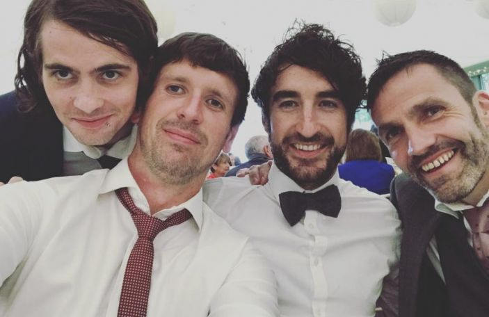 WATCH: Conor Egan from The Coronas wedding to wife Niamh